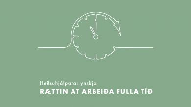 Photo of Valynski: Rættin at arbeiða fulla tíð