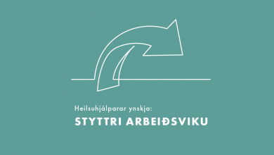 Photo of Valynski: Styttri arbeiðsviku